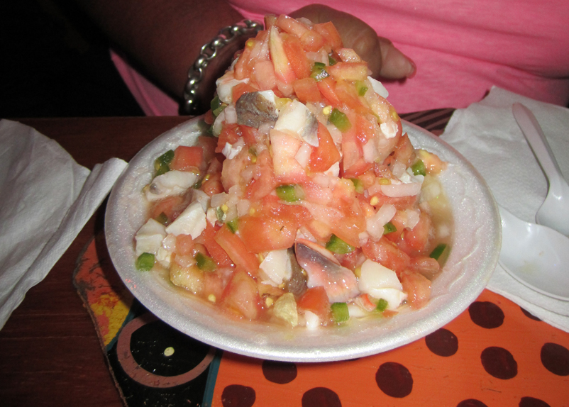 Oh Andros Conch Salad