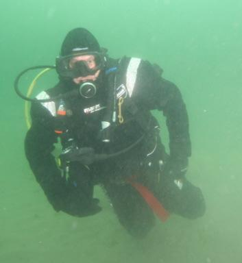 Jay Stephenson Drysuit Diving